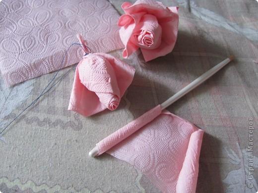 Розовое деревце фото 6