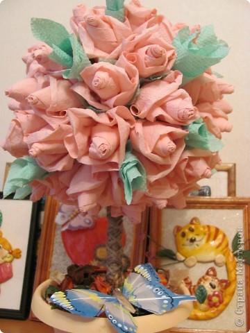 Розовое деревце фото 2