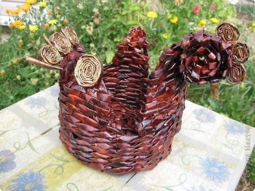 Напольная ваза на дачу по заказу мужа фото 3