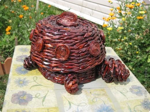 Напольная ваза на дачу по заказу мужа фото 4