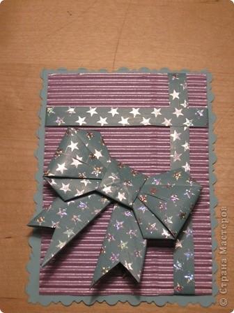 очень понравились бантики в технике оригами. Вот и получилась такая серия. фото 2