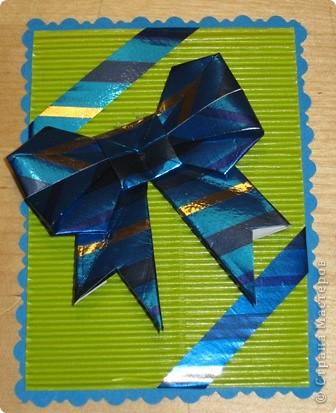 очень понравились бантики в технике оригами. Вот и получилась такая серия. фото 3