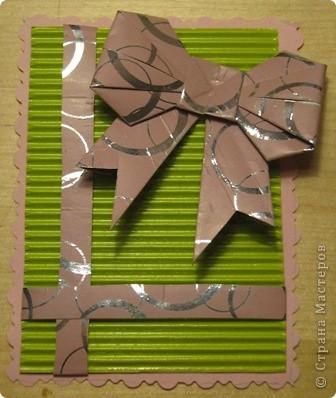 очень понравились бантики в технике оригами. Вот и получилась такая серия. фото 4