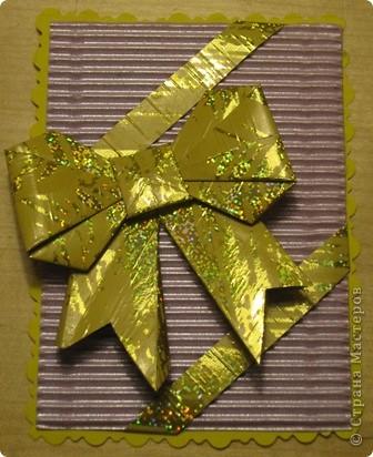 очень понравились бантики в технике оригами. Вот и получилась такая серия. фото 5