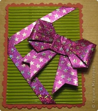 очень понравились бантики в технике оригами. Вот и получилась такая серия. фото 6