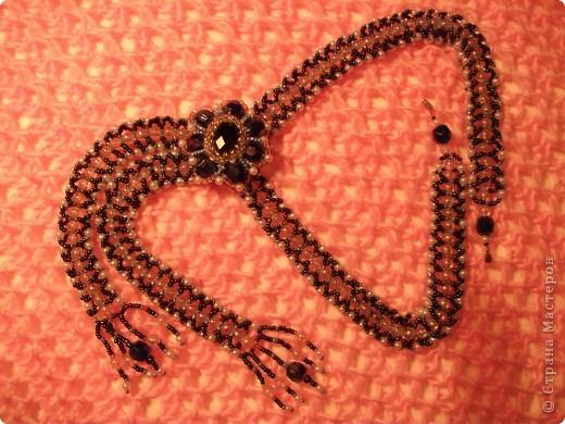 Колье-галстук Первоцвет фото 1