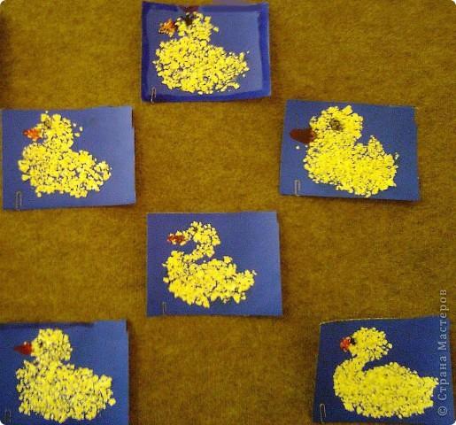Птицы из яичной скорлупы