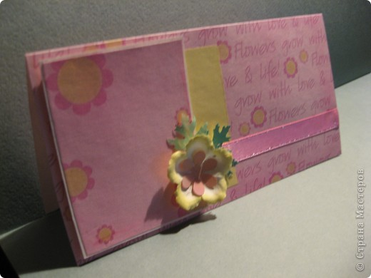 Я не волшебник, я только учусь... Сделала такую нежненькую открыточку на День рождения прелестной девочке. фото 2