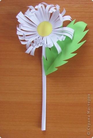 Вот такой простой букетик можно сделать с детьми младшего школьного возраста. фото 8