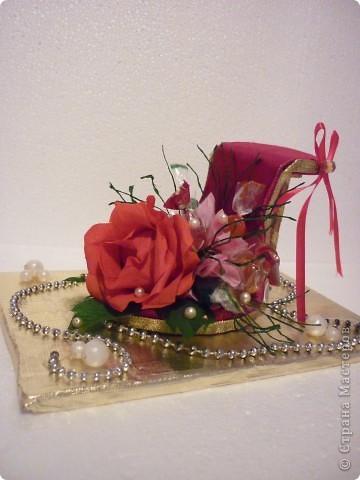 Вот такое дополнение к основному подарку на свадьбу друзей я сделала. фото 2