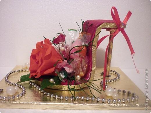 Вот такое дополнение к основному подарку на свадьбу друзей я сделала. фото 1