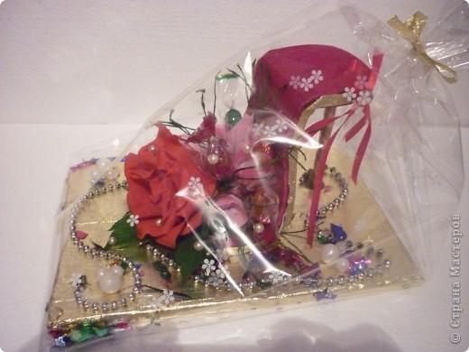 Вот такое дополнение к основному подарку на свадьбу друзей я сделала. фото 3