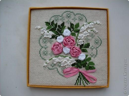 Розы и колокольчики - очень нежное сочетание! фото 1