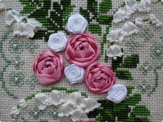 Розы и колокольчики - очень нежное сочетание! фото 2