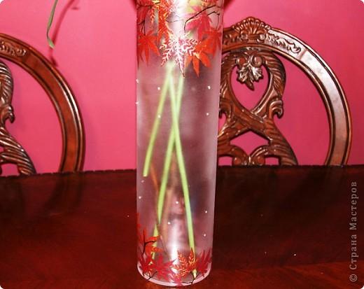 Первая моя ваза..с кристаллами Сваровски! фото 1