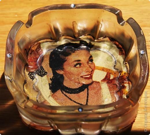 Первая моя ваза..с кристаллами Сваровски! фото 3