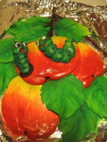 Вот такие яблочки у меня получились, а почему с червячками - так ведь натур.продукт. фото 4
