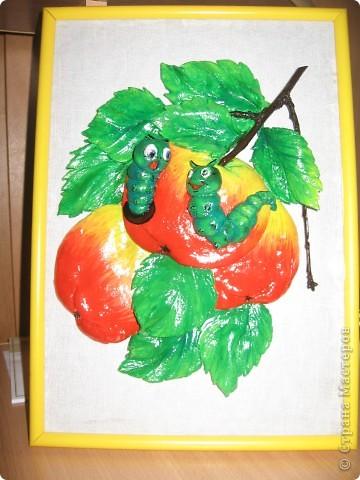 Вот такие яблочки у меня получились, а почему с червячками - так ведь натур.продукт. фото 1