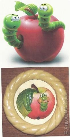 Вот такие яблочки у меня получились, а почему с червячками - так ведь натур.продукт. фото 2