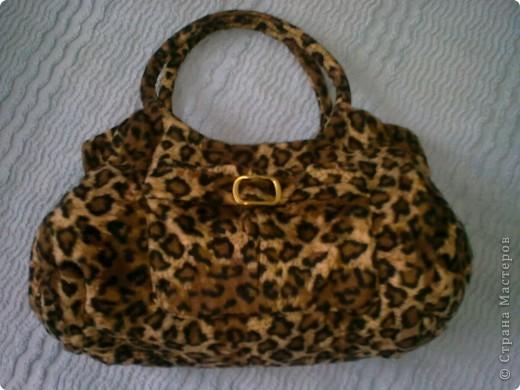 сумка леопард ( любимая ) фото 1