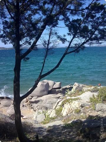 остров Сардения находиться в Италии возле Корсики фото 2