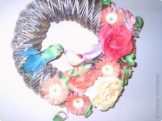 Цветен венец фото 1