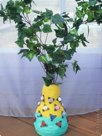 напольные вазы с искусственными деревьями(береза,клён) фото 2