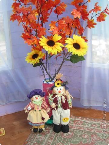 напольные вазы с искусственными деревьями(береза,клён) фото 7