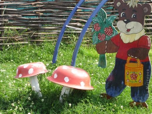 украшение детской площадки фото 7