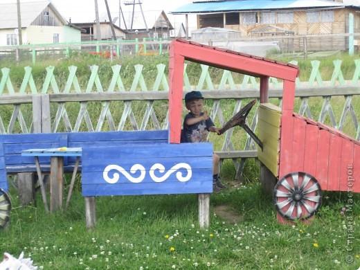 украшение детской площадки фото 8
