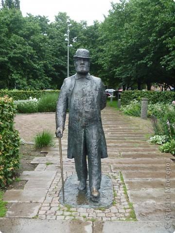 Статуи, миниатюры, памятники, фонтаны Швеция. Гетеборг фото 9