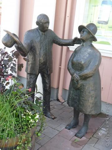 Статуи, миниатюры, памятники, фонтаны Швеция. Гетеборг фото 10