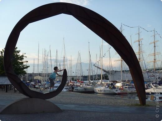 Статуи, миниатюры, памятники, фонтаны Швеция. Гетеборг фото 8