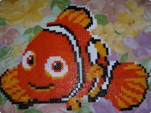 "Рыбка ""Немо"" мозаика ""hama"""