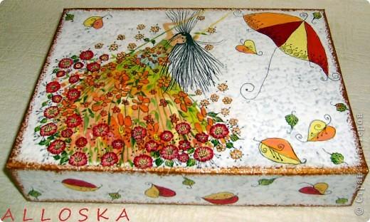 Декупаж и роспись акриловыми красками фото 4