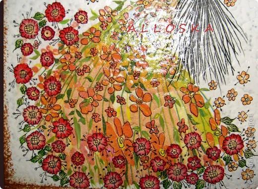 Декупаж и роспись акриловыми красками фото 5