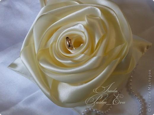 """Подушечка для обручальных колец """"Rose"""" фото 1"""