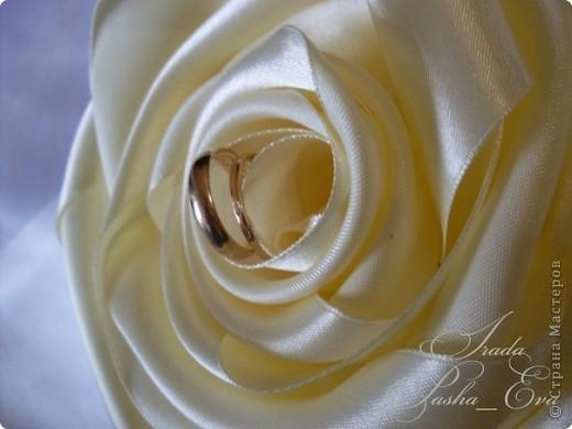 """Подушечка для обручальных колец """"Rose"""" фото 2"""