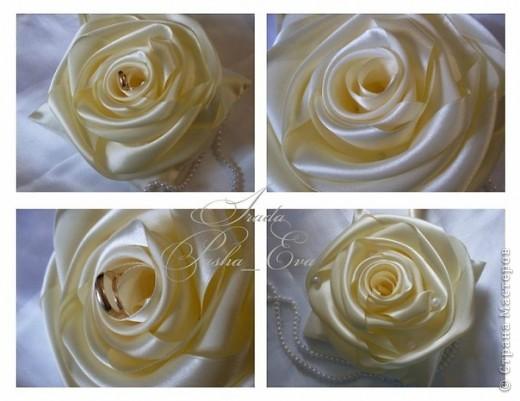 """Подушечка для обручальных колец """"Rose"""" фото 3"""