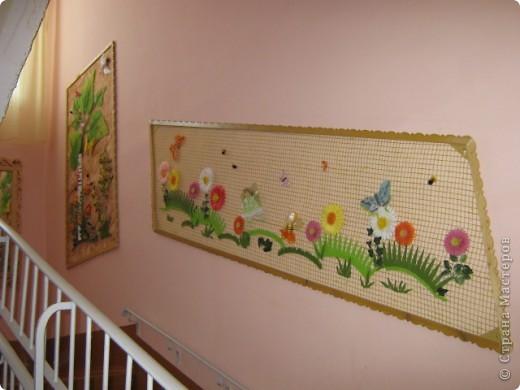Сезаль, сетка, войлок цветной, декоративные жучки, паучки, искусственные цветы фото 1