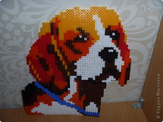 "Собака Мозаика ""hama"" фото 1"
