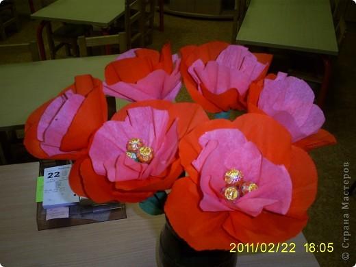 Takije cveti, mi darili muzscinam na 23 .02.