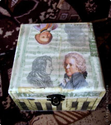 Шкатулка в подарок Тетушке фото 6