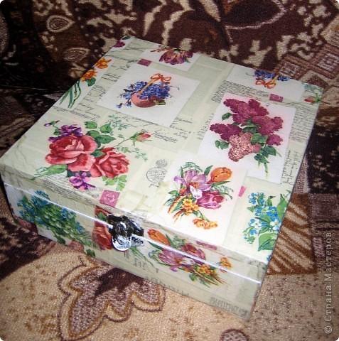Шкатулка в подарок Тетушке фото 1