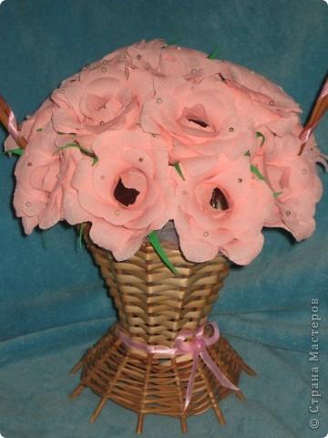 Корзина роз! фото 3