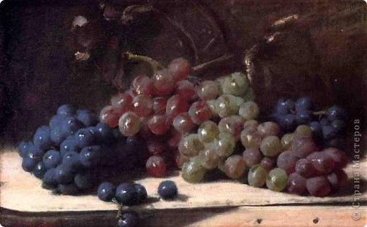 Виноградный натюрморт фото 2