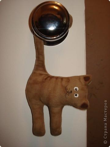 """Итак, с легкой руки Стасюли http://stranamasterov.ru/node/222331?c=favusers наша страна стала пополняться стадом """"висячих котов"""". Спасибо, дорогая моя!!! Теперь такие и у меня есть. Посвящены они моим сынишкам: фото 3"""