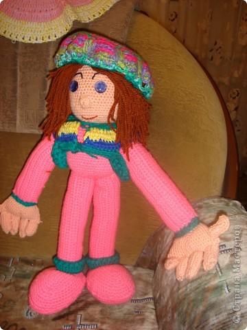 Это моя первая кукла Маняша!
