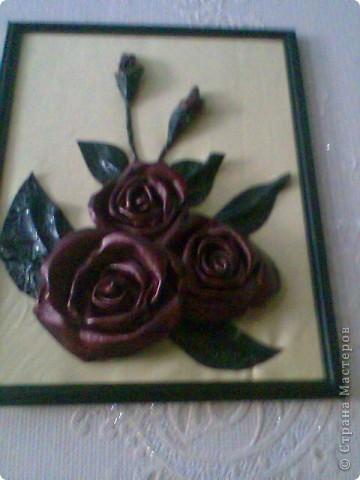 цветы из кож/зам.