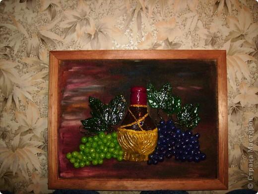 Виноградный натюрморт фото 1